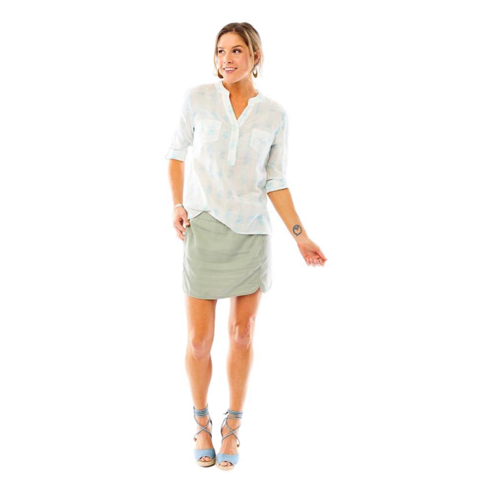 Carve Designs Women's Dylan Gauze Long Sleeve Shirt