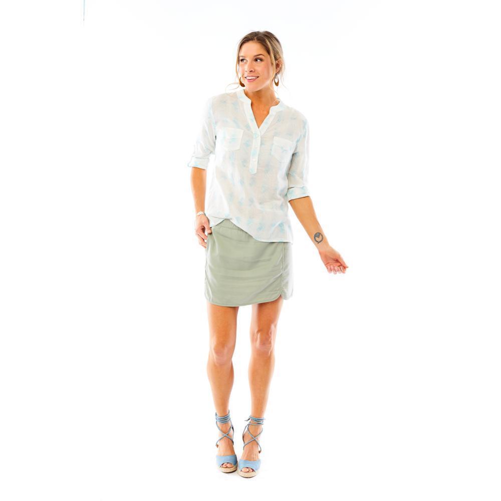 Carve Designs Women's Dylan Gauze Long Sleeve Shirt SURFAGAVE