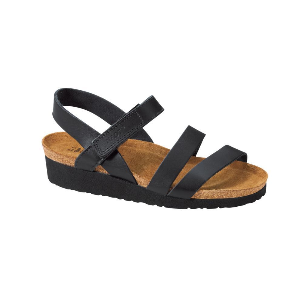 61a59d8e6cd5 Selected Color Naot Women s Kayla Sandals BLACK