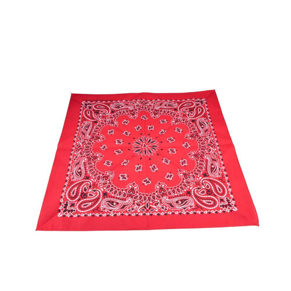 The Bandanna Company Classic Western Red Bandana RED