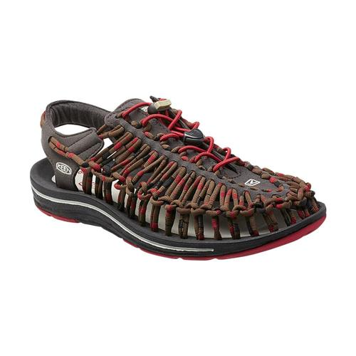 KEEN Men's UNEEK Sandals Reddlia.Rya