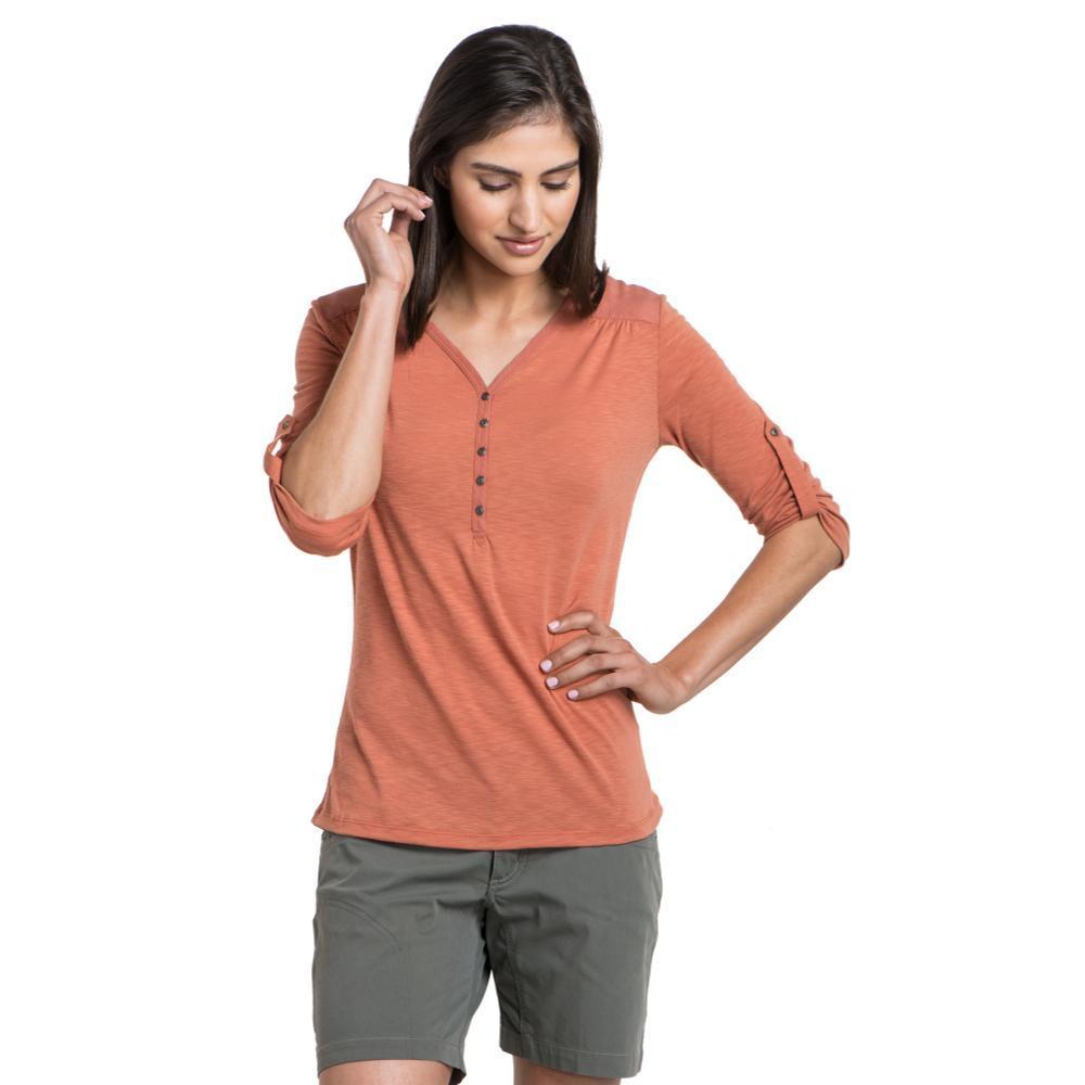KÜHL Women's Shasta 3/4 Sleeve Shirt TUSCANY