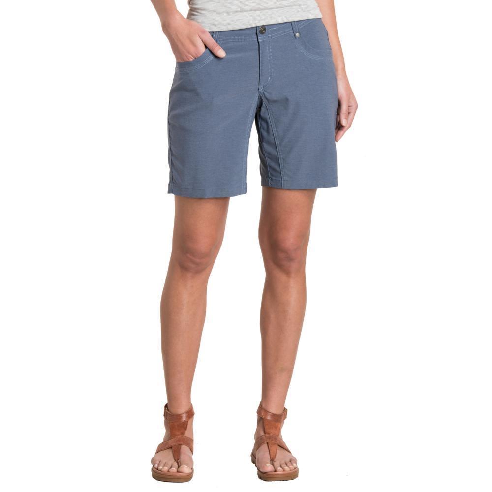 KUHL Women's Trekr Shorts - 8in VINTBLUE