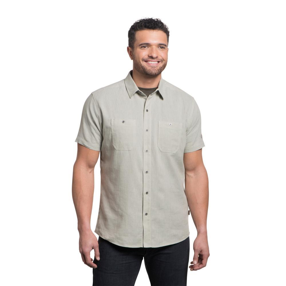 KUHL Men's Skorpio Tapered Short Sleeve Shirt SANDDUNE