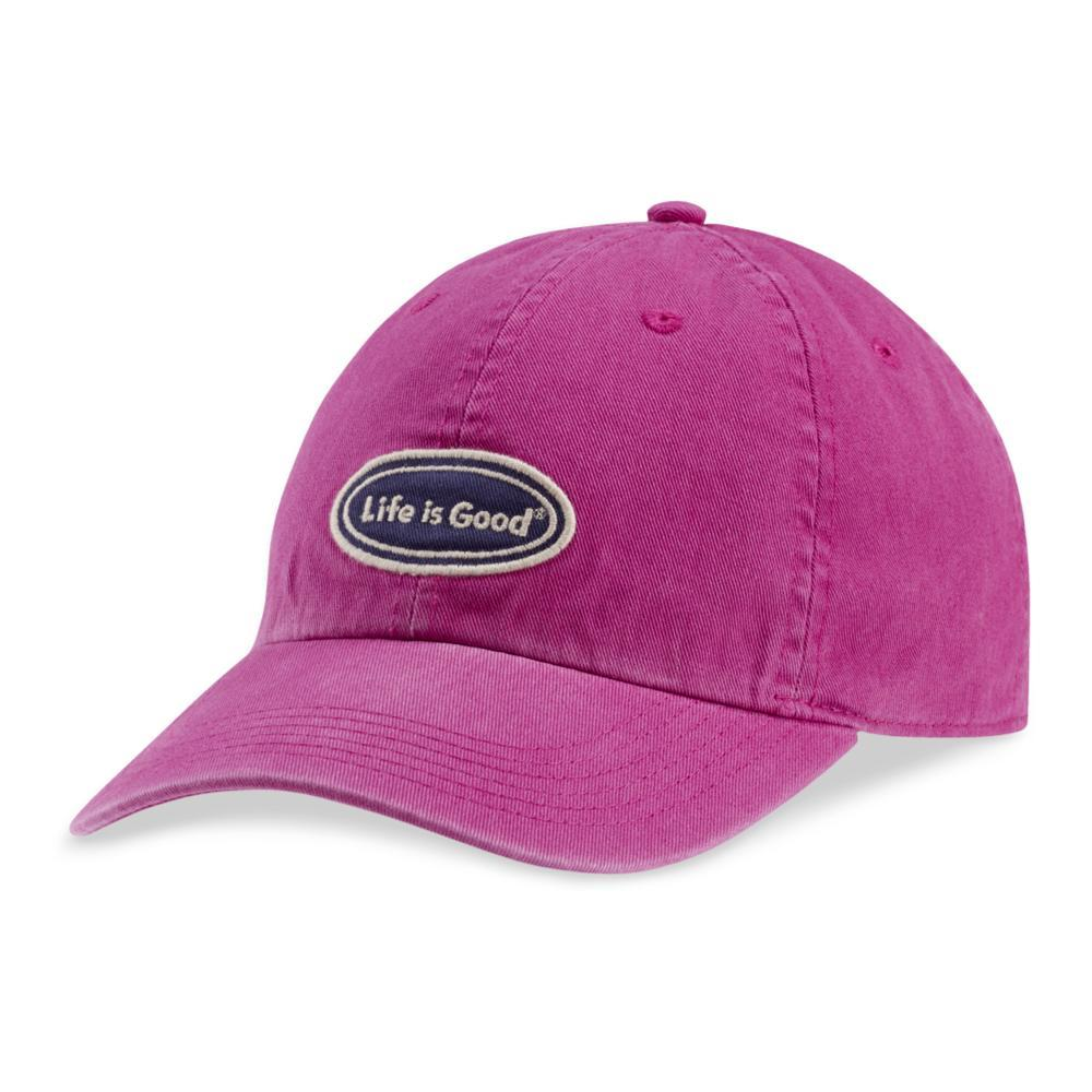 Life is Good Oval Chill Cap SASSYMAGENTA