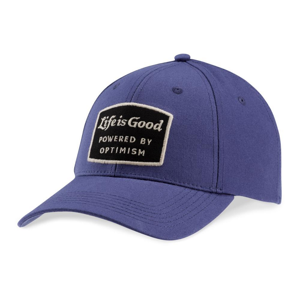 Life is Good Power Patch High Rise Chill Cap DARKESTBLUE