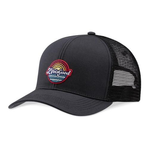 Life is Good Beachy LIG Patch Hard Mesh Back Chill Cap