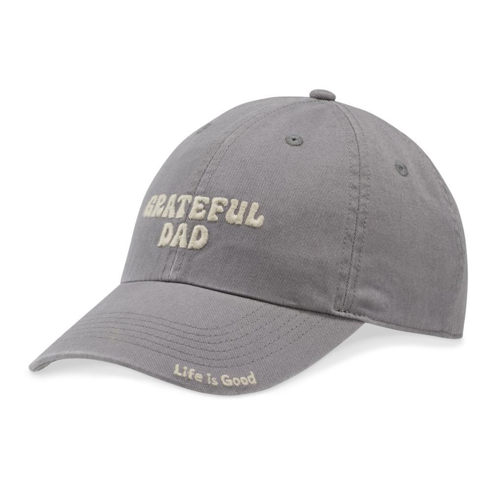 Life is Good Grateful Dad Chill Cap SLATEGRAY