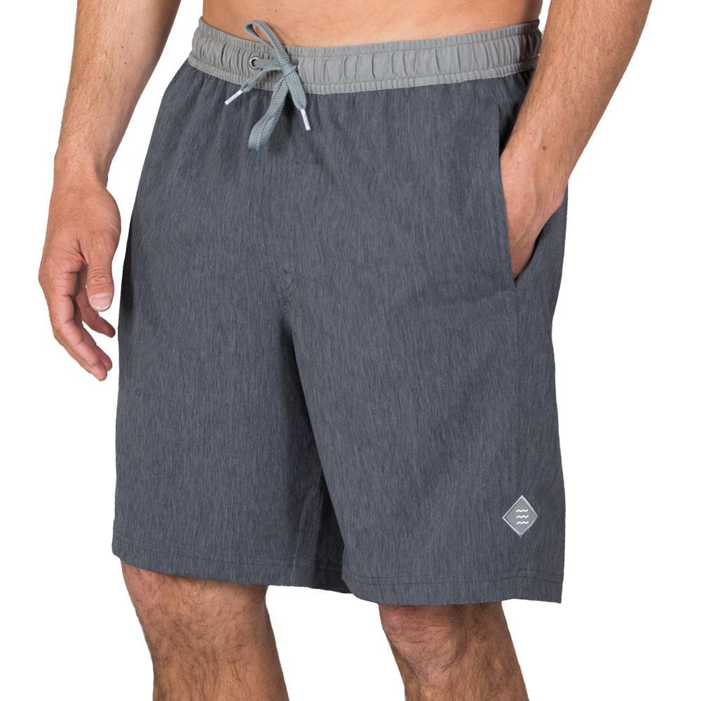 Free Fly Men's Hydro Shorts HTHRBLK106