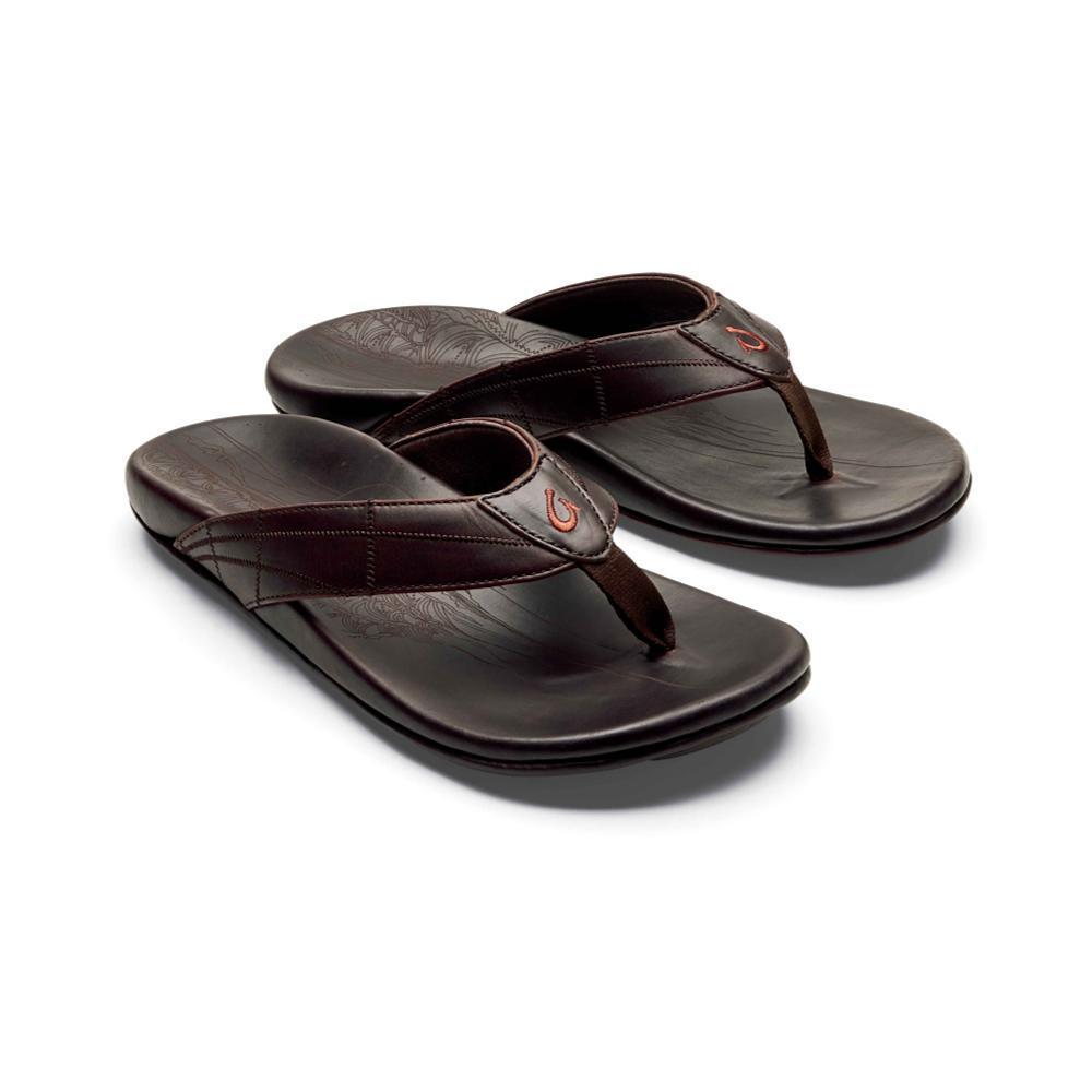 OluKai Men's Hokule'a Kia Leather Sandals DKWD.DKWD_6363