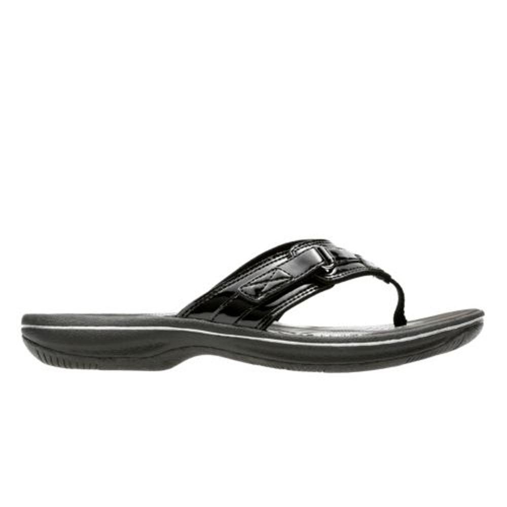 Clarks Women's Breeze Sea Flip Sandals MAGENTA