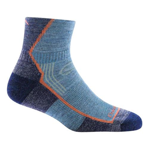 Darn Tough Women's 1/4 Quarter Cushion Socks Denim