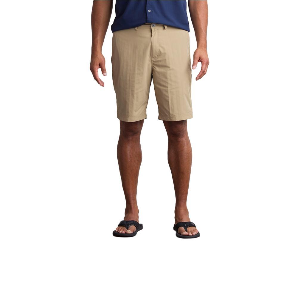 ExOfficio Men's Sol Cool Nomad Shorts 10in WALNUT