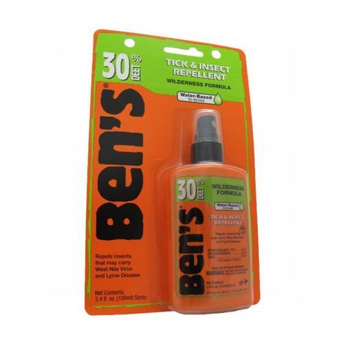 Ben's 30 Tick & Insect Repellent 3.4oz Pump