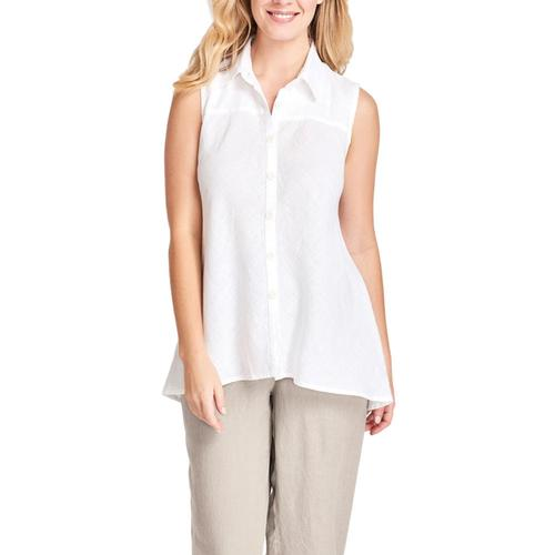 FLAX Women's Skyline Sleeveless Blouse