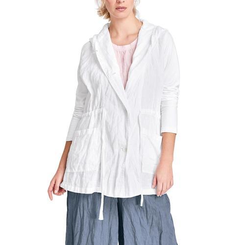 FLAX Women's Boardwalk Jacket White