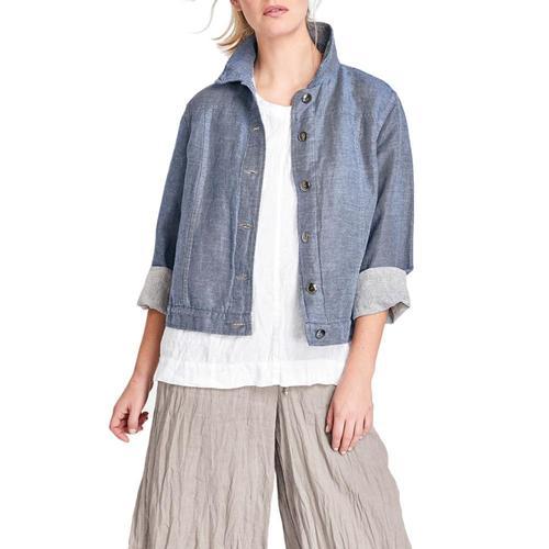 FLAX Women's Jean Jacket