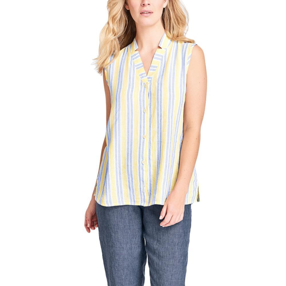 FLAX Women's Gazebo Sleeveless Blouse STRIPE