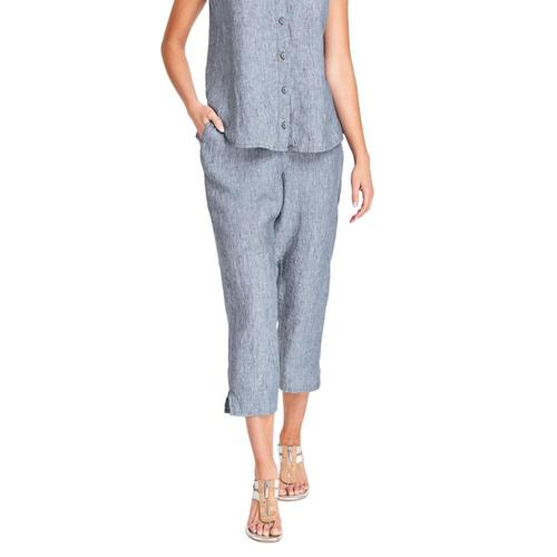 FLAX Women's Pocketed Ankle Pants Dungaree