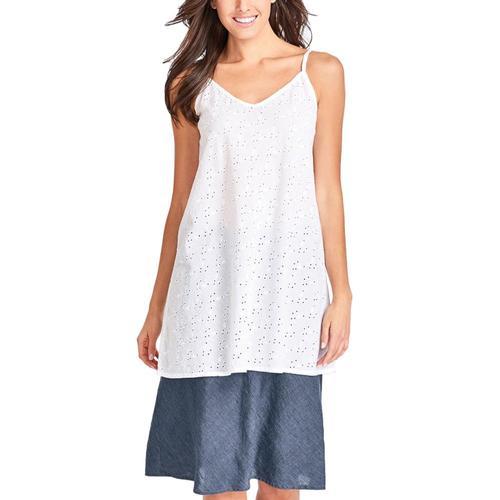 FLAX Women's Short Line Skirt Denim