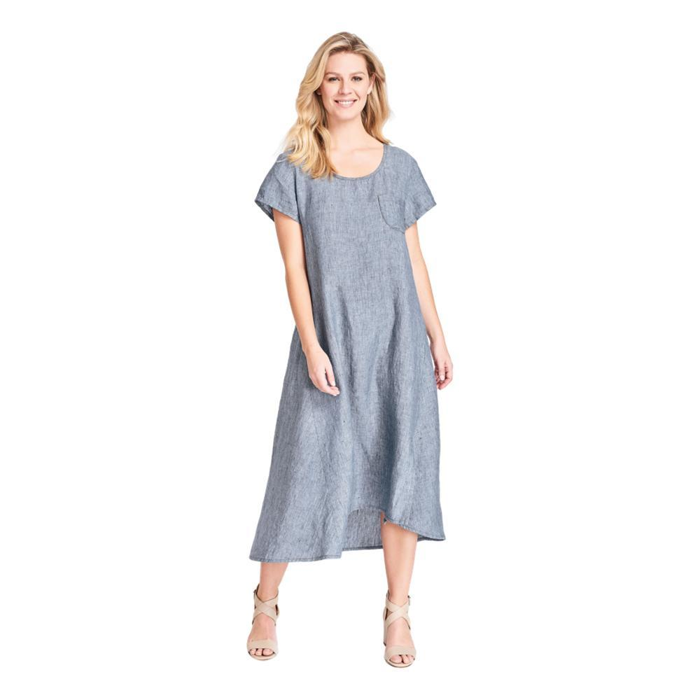 FLAX Women's Stretched Top Dress DUNGAREE