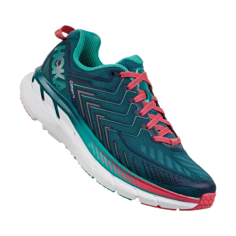 HOKA ONE ONE Women's Clifton 4 Running Shoes BLUECORAL