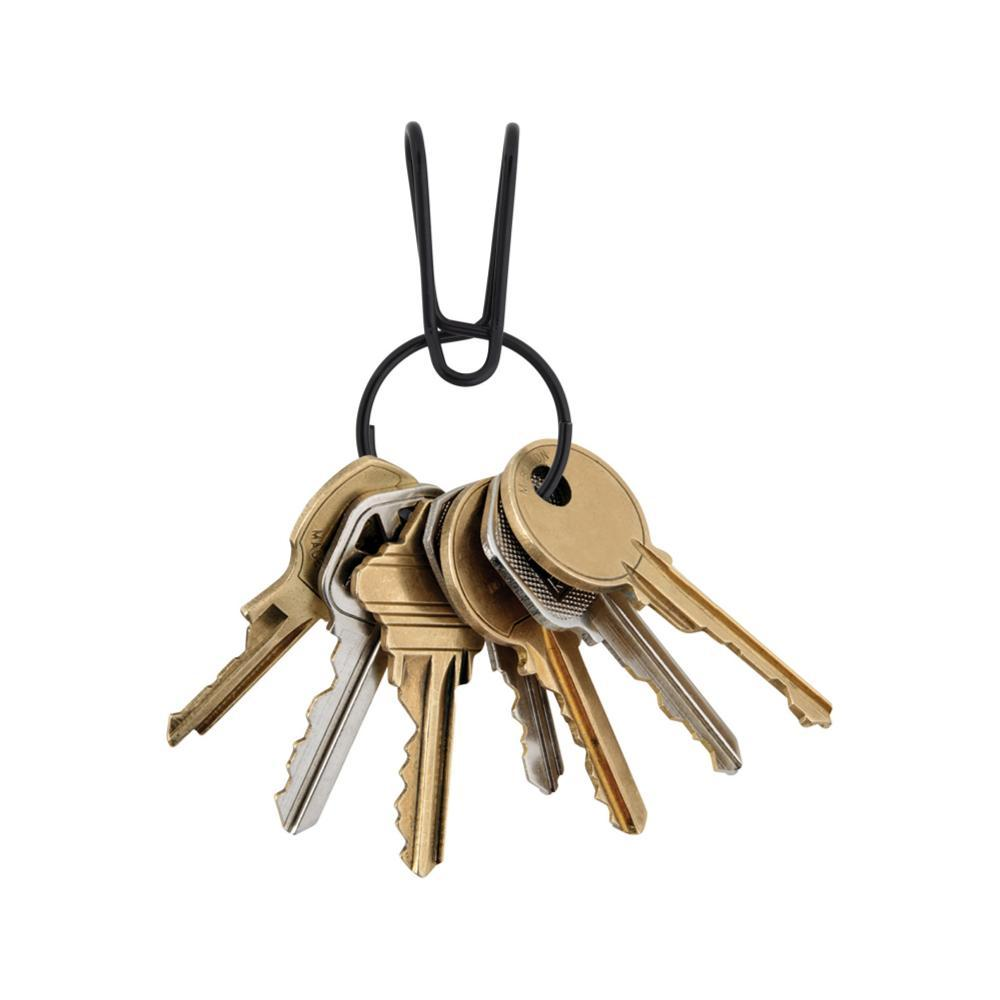 Nite Ize SqueezeRing Easy Load Key Clip BLACK