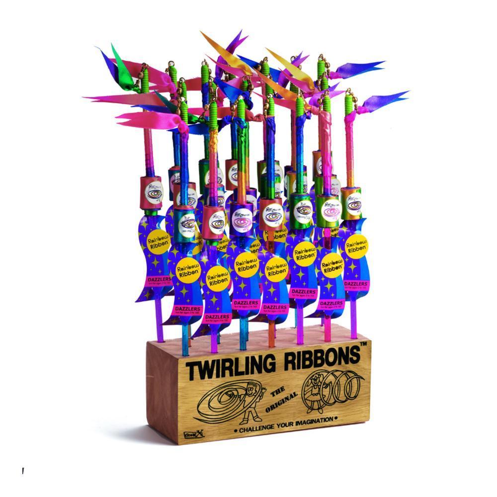 University Games Rainbow Dazzler Twirling Ribbon