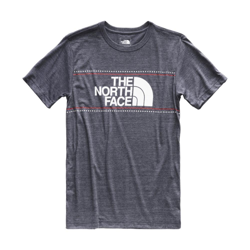 The North Face Men's Americana Tri-Blend Short Sleeve Tee URBNAVY_AVM