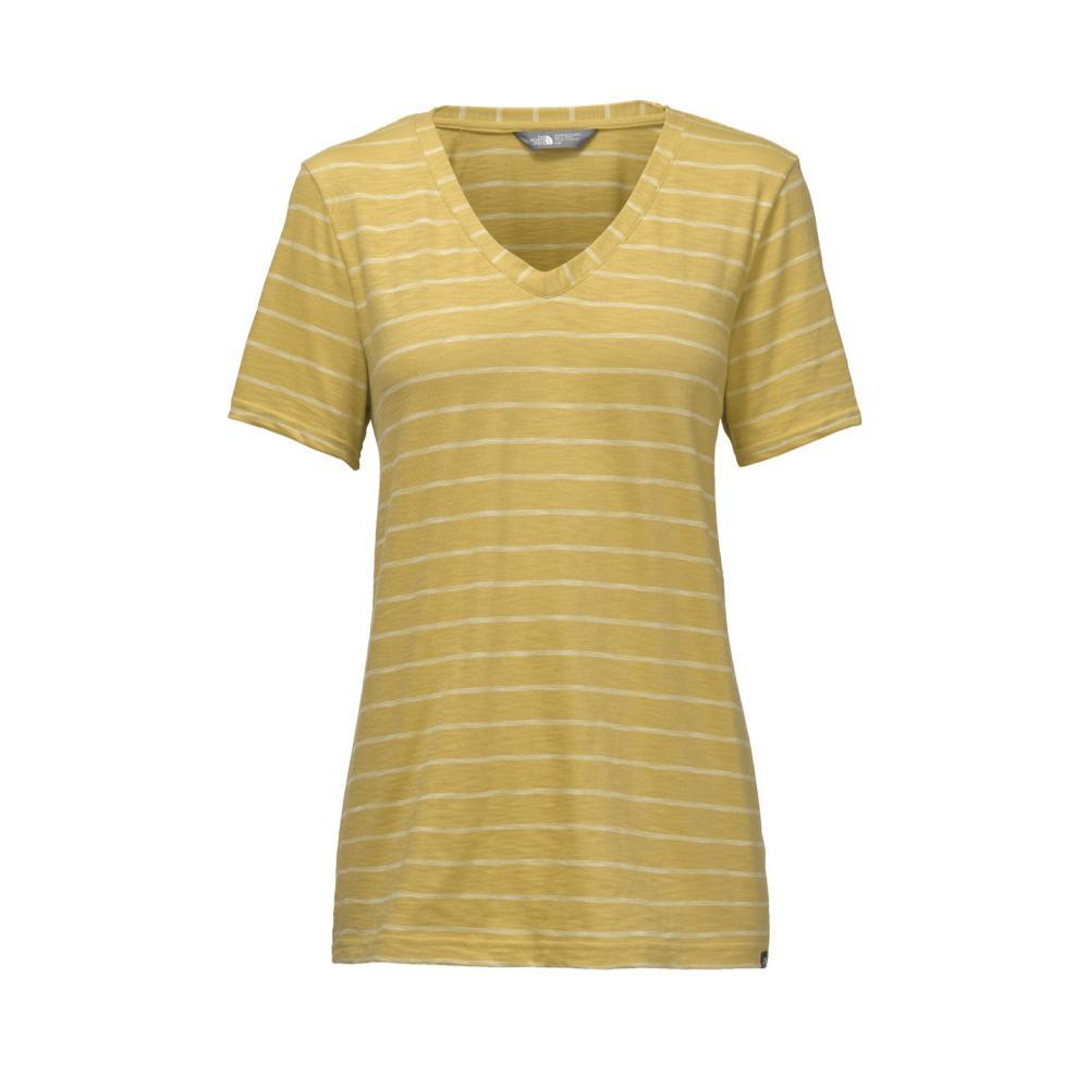 The North Face Women's Short-Sleeve Sand Scape V-Neck Tee 3LB_YELLOW