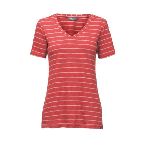 The North Face Women's Short-Sleeve Sand Scape V-Neck Tee