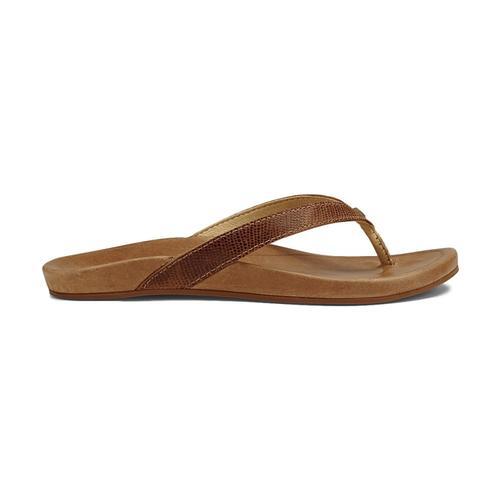 OluKai Women's Hi'ona Sandals Tan