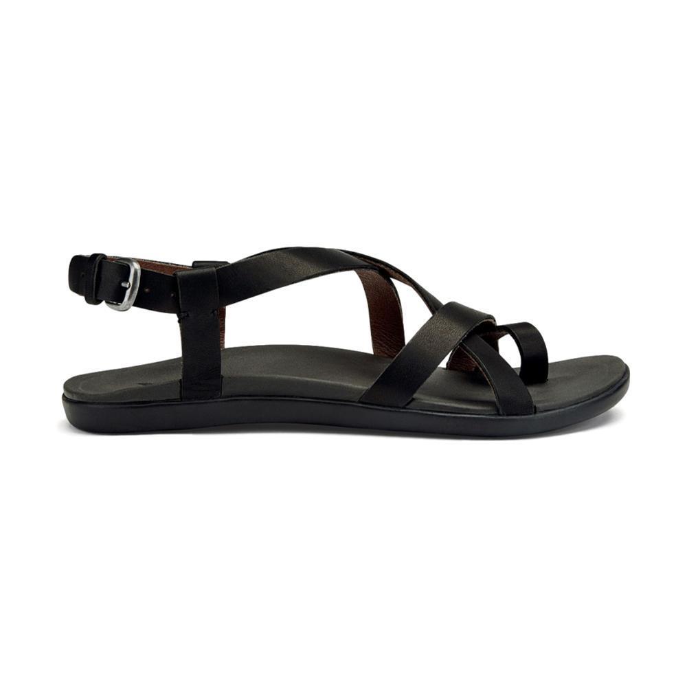 OluKai Women's Upena Sandals BLACK