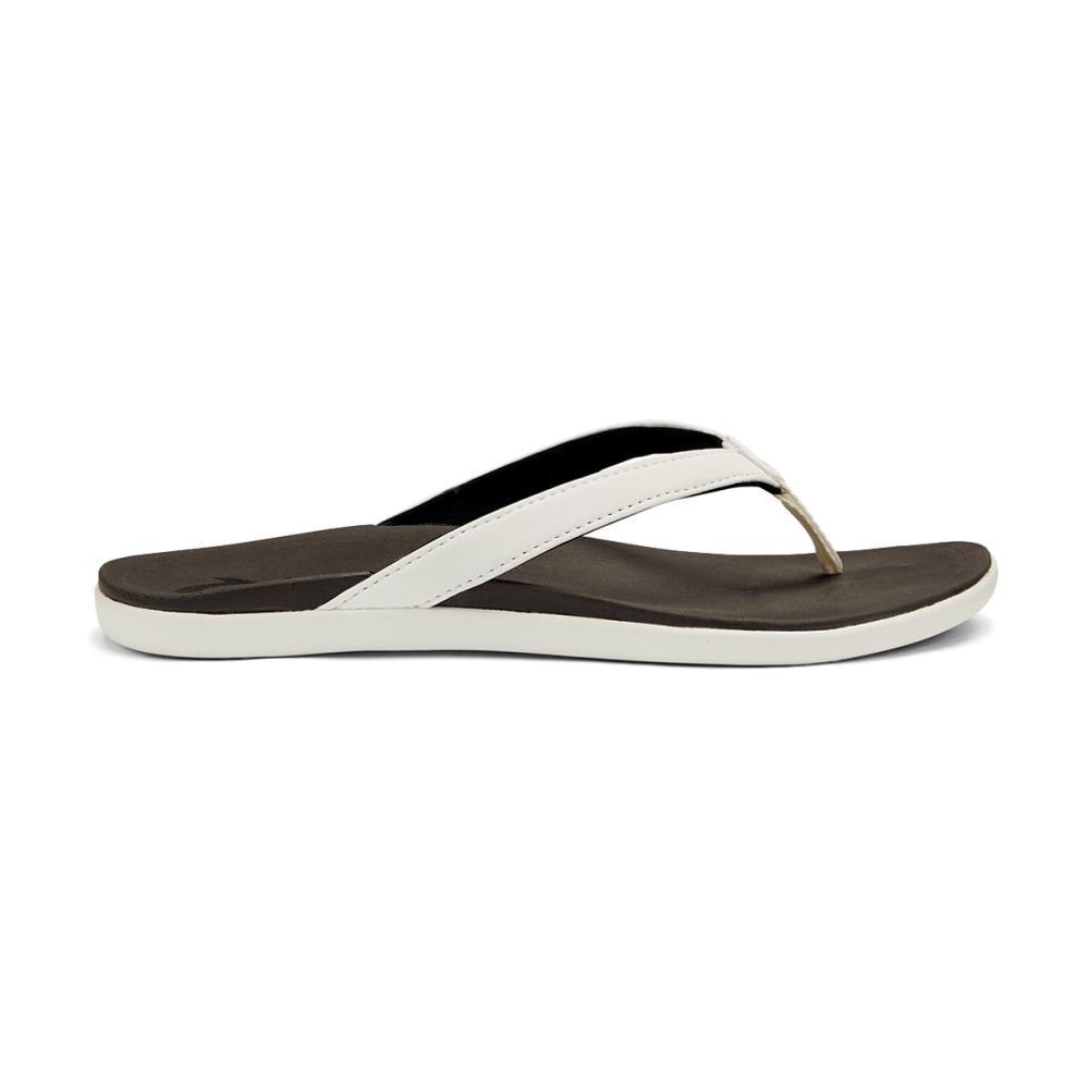 OluKai Women's Ho'opio Sandals WHITE