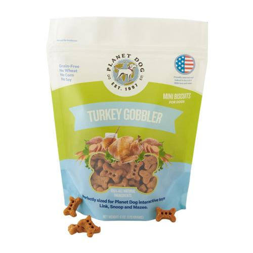 Planet Dog Turkey Gobbler Treats - 6oz