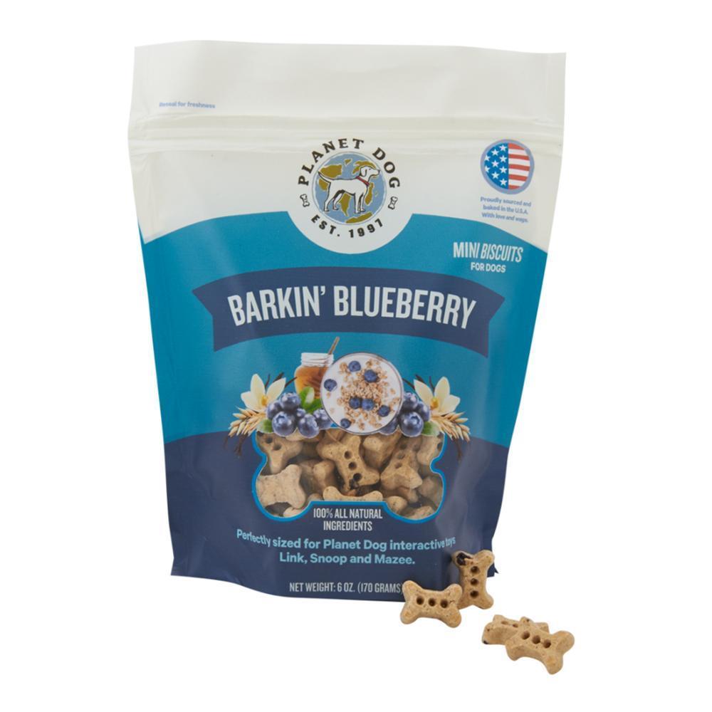 Planet Dog Barkin' Blueberry Treats - 6oz BLUEBERRY