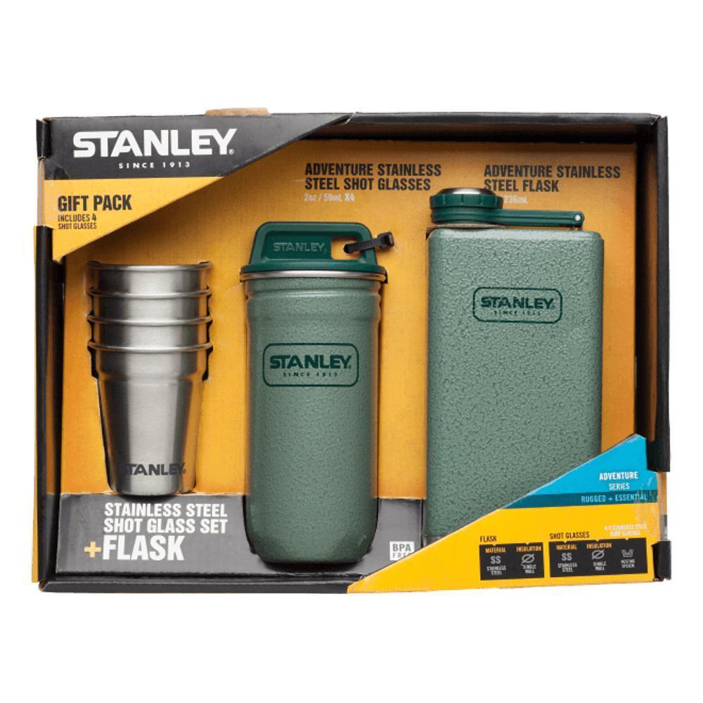 Stanley Adventure Steel Shots + Flask Gift Set HAMMERTONE_GRN