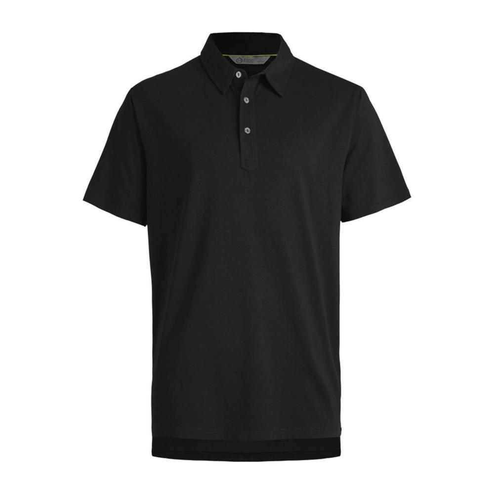 tasc Men's Air Stretch Polo BLACK