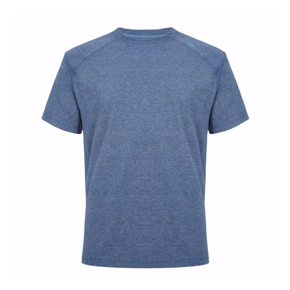 tasc Men's Carrollton Heather Performance Crew T-Shirt INDIGOHTHR