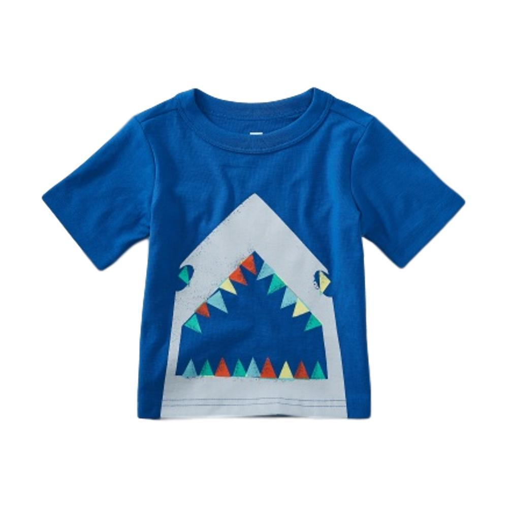 Tea Collection Infant Great White Graphic Baby Tee BAYOUBLUE