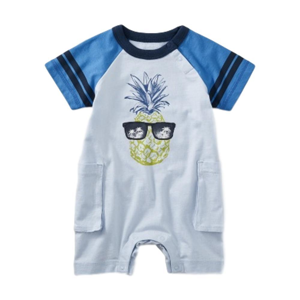 Tea Collection Infant Pineapple Cargo Romper VISTABLUE