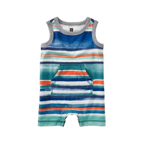 Tea Collection Infant Striped Tank Romper