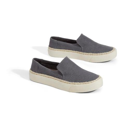 TOMS Women's Shade Heritage Canvas Sunset Slip-Ons