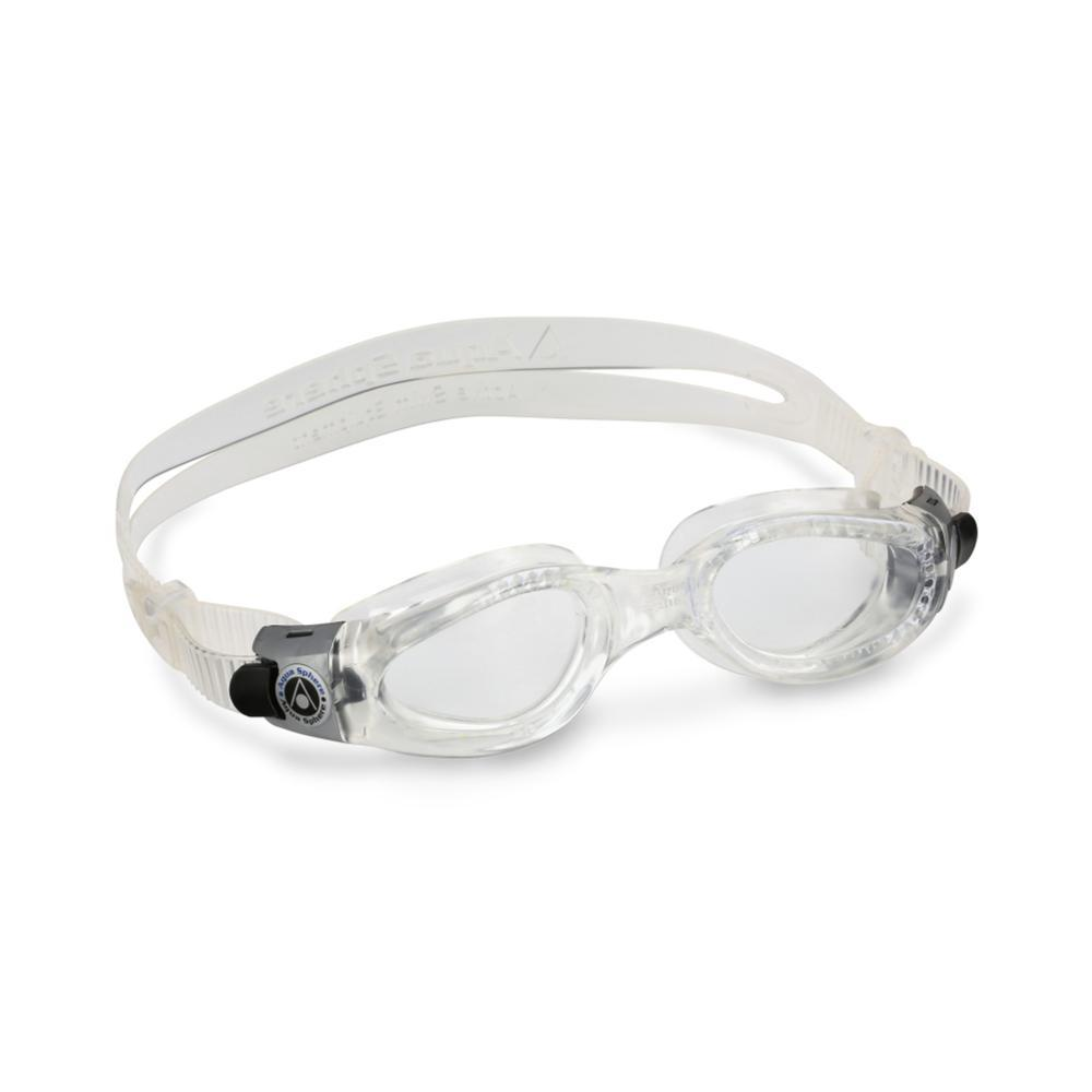 Aqua Sphere Kaiman Swim Goggles - Small Fit Clear Lens CLEAR