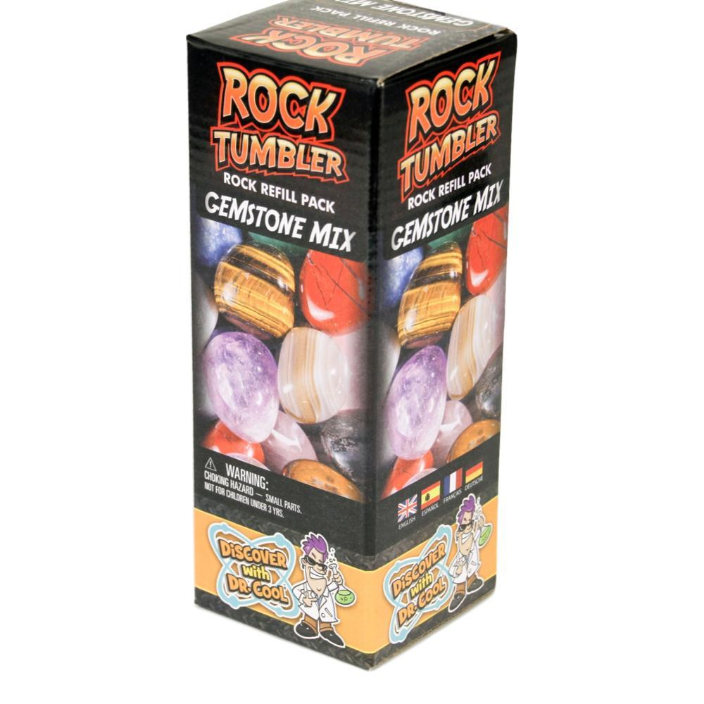 Discover With Dr.Cool Rock Tumbler Gemstone Refill Kit