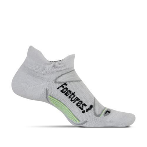 Feetures Unisex Elite Merino+ Cushion No Show Tab Socks
