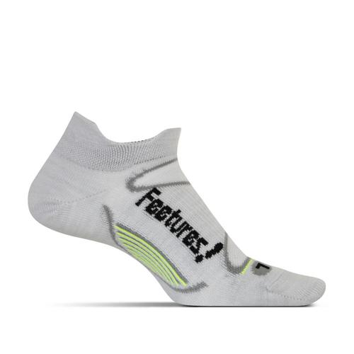 Feetures Unisex Elite Merino+ Ultra Light No Show Tab Socks