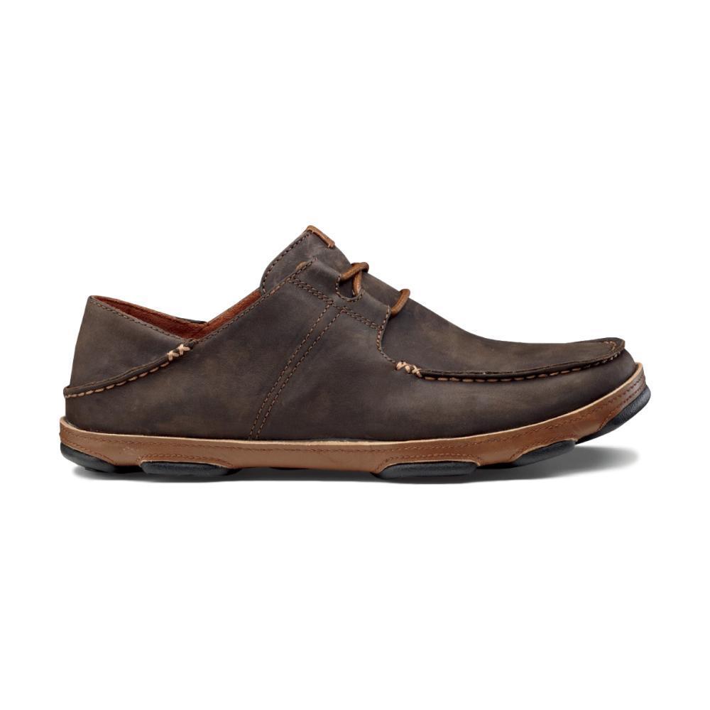 OluKai Men's 'Ohana Lace-Up Nubuck Shoes DRK.WOODTOFFEE