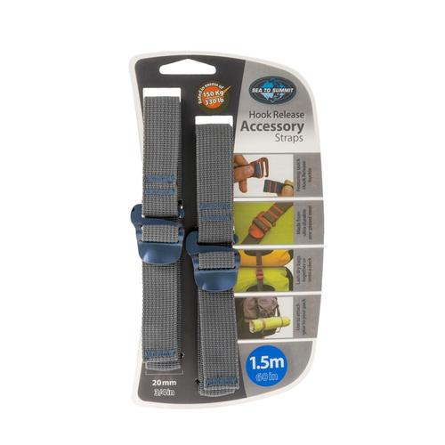 Sea To Summit Accessory Straps With Hook Release - 20mm