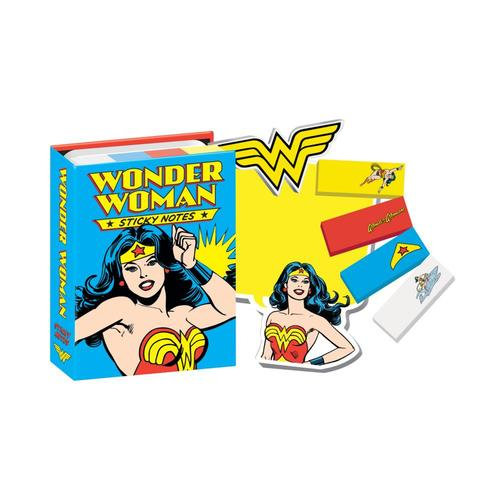 Unemployed Philosophers Guild Wonder Woman Sticky Notes